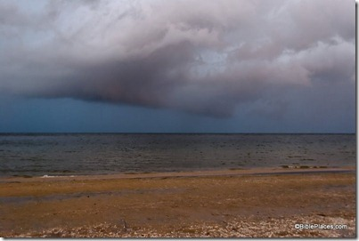 Storm over Sea of Galilee, tb011212500
