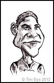 Sam Foley Caricature