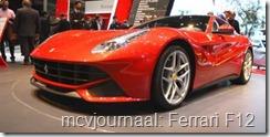 2012 Autosalon Geneve - Ferrari F12
