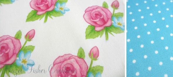 2013sep14 Spoonflower swatch cupcakes and roses rose spotty blue b