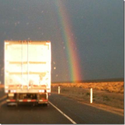 Mojave Rainbow