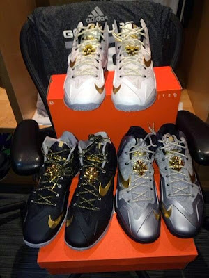 nike lebron 11 pe manu ginobili 1 02 Manu Has Three Different LeBron 11 PEs/IDs for NBA Finals