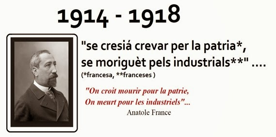 frasa del filosòfe francés Anatole France