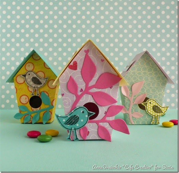 cafe creativo - big shot - easter box birdhouse - pasqua (1)