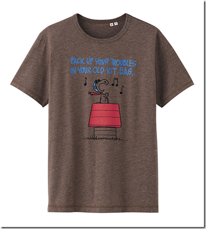 Uniqlo X Snoopy Tee - Man 27