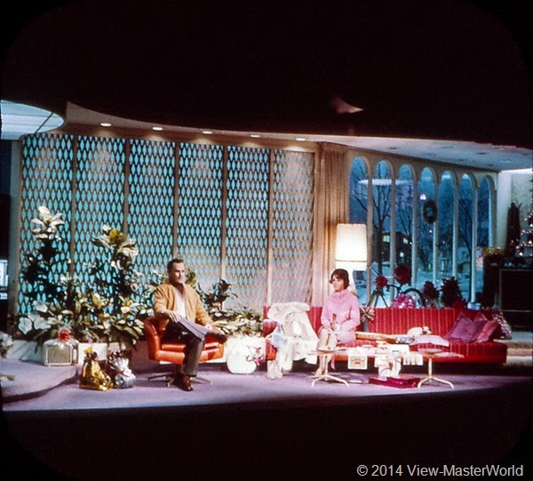View-Master New York World's Fair 1964-1965 (A671),Scene 9: Today's Home in General Electric's Carousel Theater