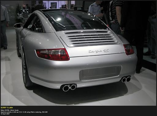 Porsche 911 targa 4S (997)