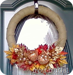Burlap & Bling Wreath