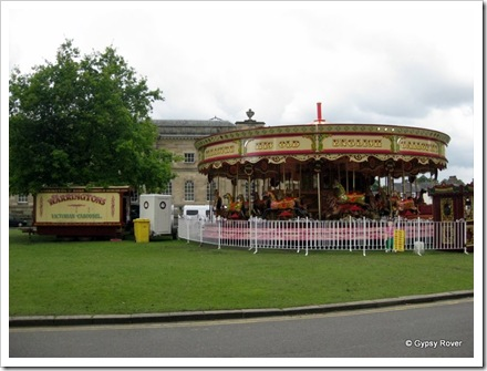 Warringtons Victorian carousel.