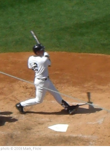 'Derek Jeter at Bat 3' photo (c) 2008, Mark - license: http://creativecommons.org/licenses/by-nd/2.0/
