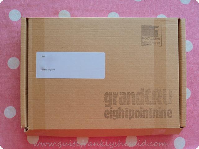 eightpointnine coffee box