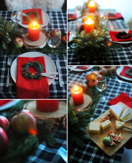Semplicemente Perfetto Christamas Table Setting 03