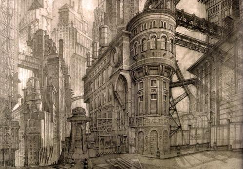 Gotham City, Anton Furst