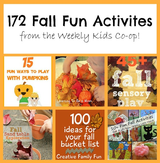 fall, sensory, autumn, kids, family