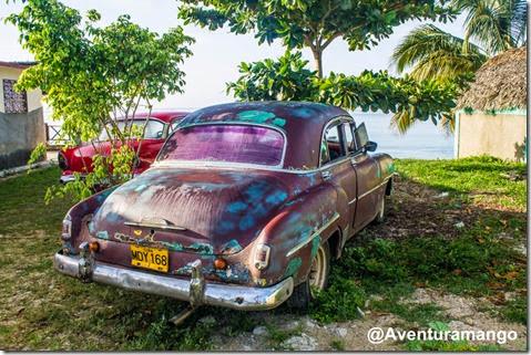 Carros em Playa Larga, Cuba