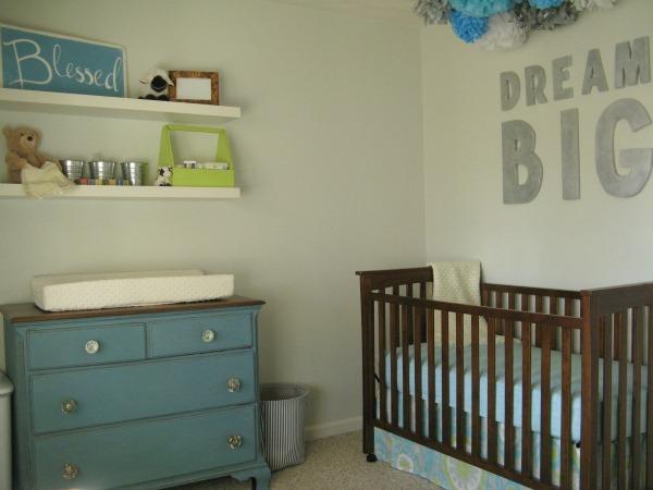 DIY vintage nursery