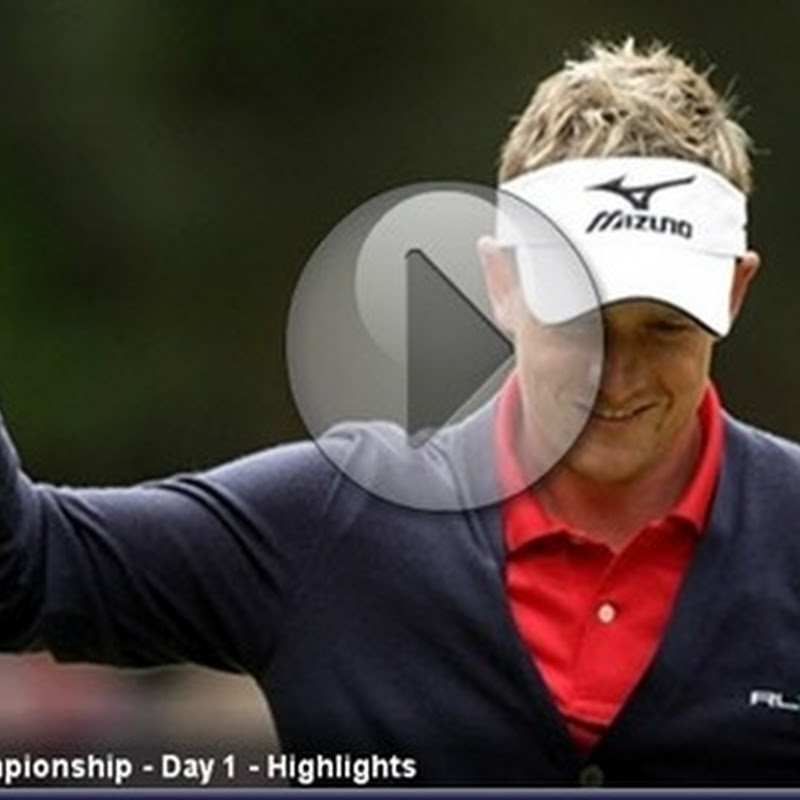 2011 BMW PGA Championship First Round Highlights- European Tour