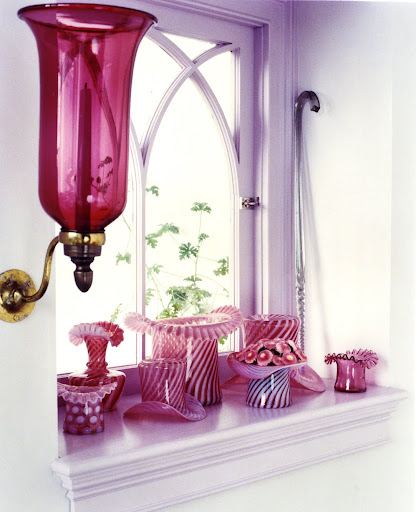 These glass stovepipes, which became extremely popular, show the whimsical side of the material. (Martha Stewart Living)