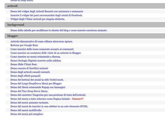 mappa-sito-etichette