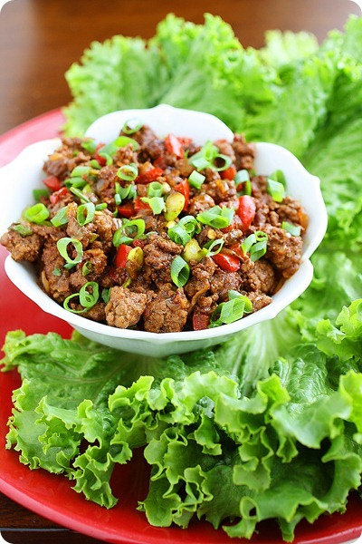 Asian Beef Lettuce Wraps – Fun, healthy and super delicious lettuce wraps make a fresh twist on your usual menu! | thecomfortofcooking.com