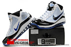 zlvii fake colorway white black blue 1 03 Fake LeBron VII