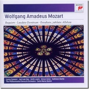 Mozart Requiem Giulini Sony