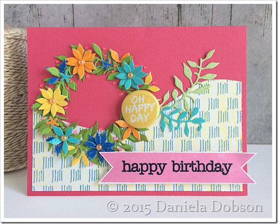Happy birthday by Daniela Dobson