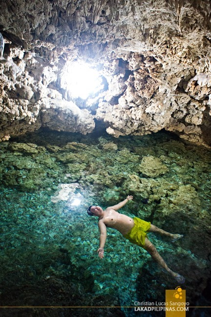Relaxing Dip at Bolinao's Wonderful Cave