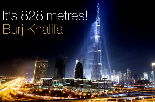 The world's tallest tower, 'Burj Khalifa':The Interior design