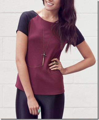 VS sleeve burgundy