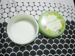 the face shop green grape hand and body shiffon cream, bitsandtreats