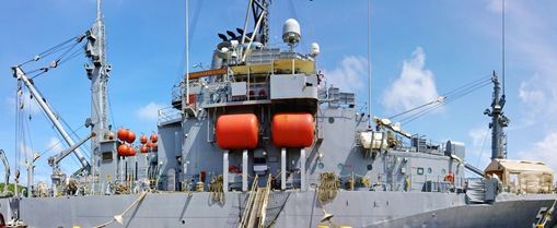 USNS safeguard panorama