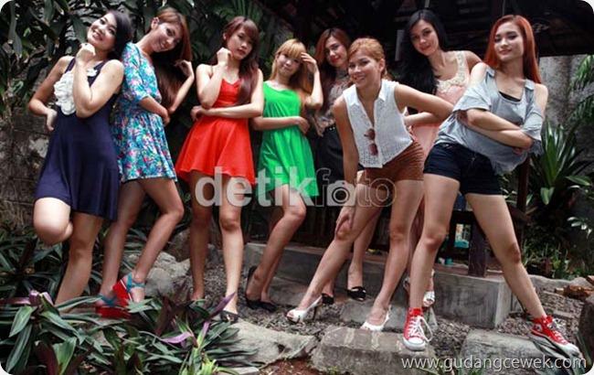 Foto Seksi Personil Girls Band Bexxa || gudangcewek.com