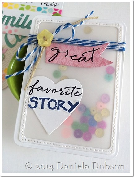 Favorite story card by Daniela Dobson