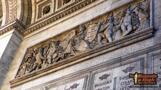 Visitar Arco del Triunfo Paris 3