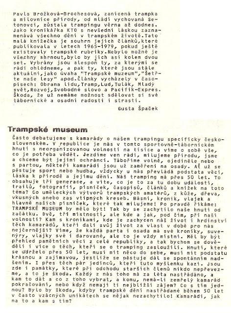 B2 Ozvěny Pavla Brožková - Brochesová kapitola trampské muzeum.jpg
