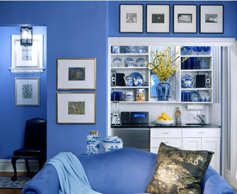 Blue And White Decorating Ideas | Dream House Experience