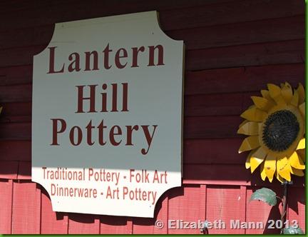 Lantern Hill sign