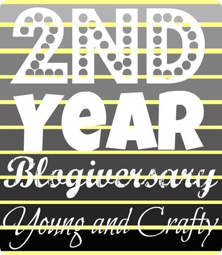 2nd year blogiversary