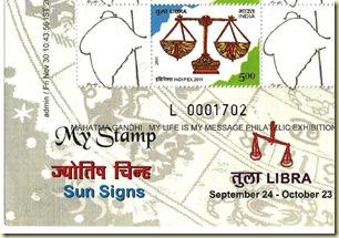 Gandhi My stamp sheetlet-2