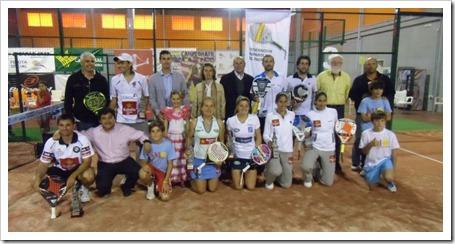 Navarro-Salazar y Mieres-Díaz Campeones Absolutos de España en su XXVIII edición foto familia