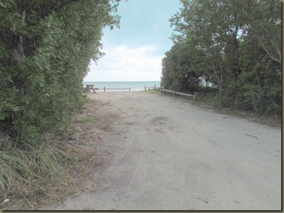 Long Key State Park, Florida Keys, site 22 left side power good for pulling in forward