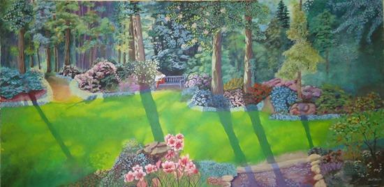 Botanical Landscape Painting