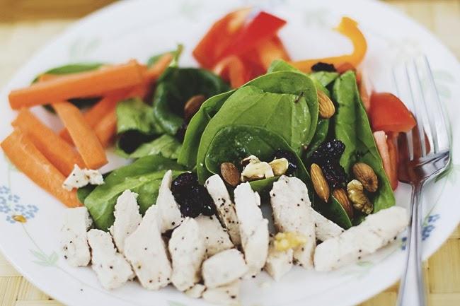 salad by Ariel.