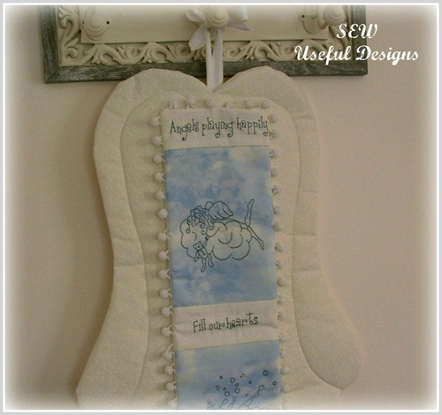 Angel fabric wings 3 pic
