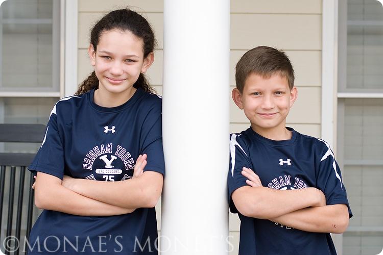 Brianna and Austin at 1st house blog