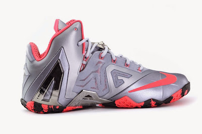 nike lebron 11 ps elite silver crimson camo 4 04 Release Reminder: Nike LeBron XI Elite Team Collection