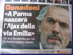 donadoni gazzetta sport 07 02 2012 dettaglio