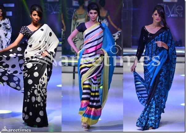 Nitya_Singh_Sarees_Pune_Style_Week_2013