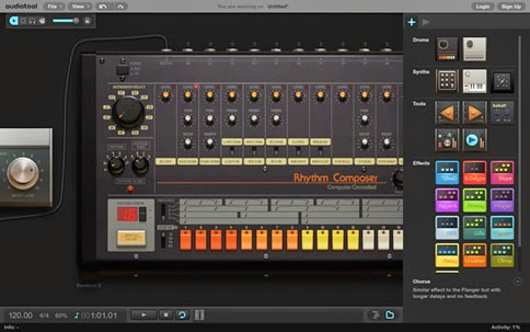 Audiotool, asombroso DJ online para mezclar pistas